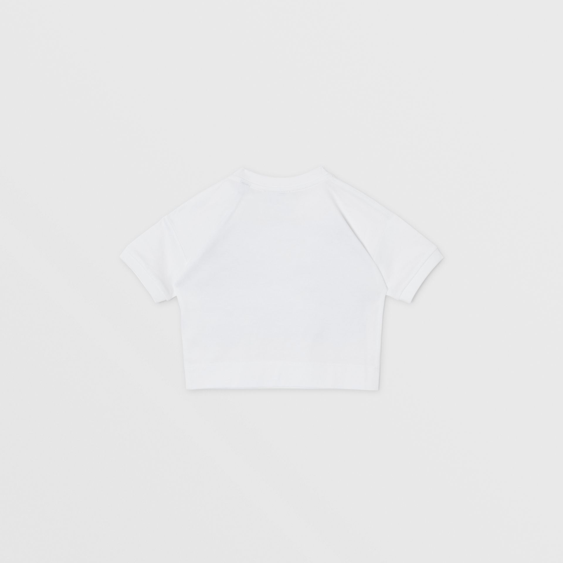 Confectionery Print Cotton T-shirt in White - Children | Burberry Canada - gallery image 3
