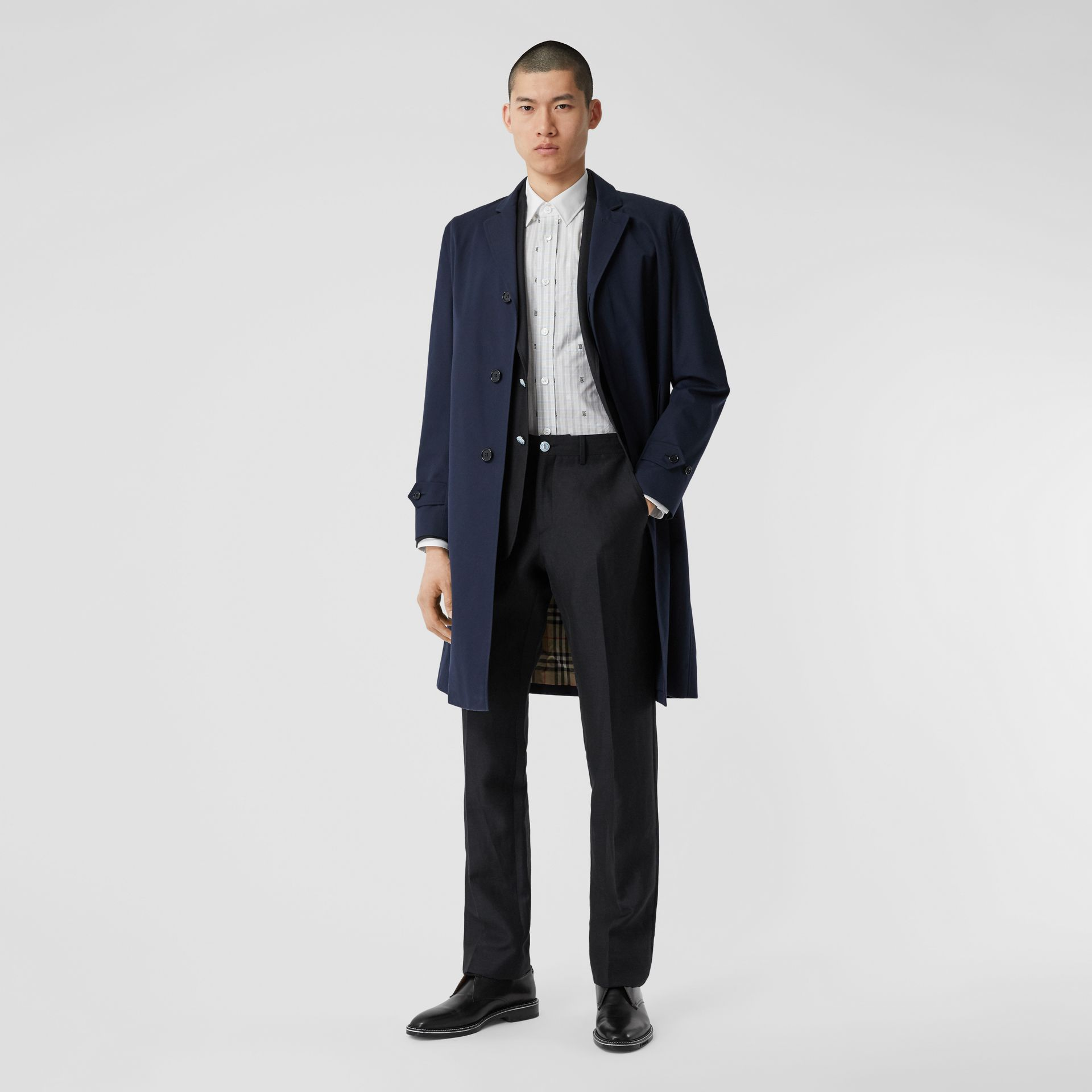 Cotton Gabardine Car Coat - Men | Burberry Singapore - gallery image 0