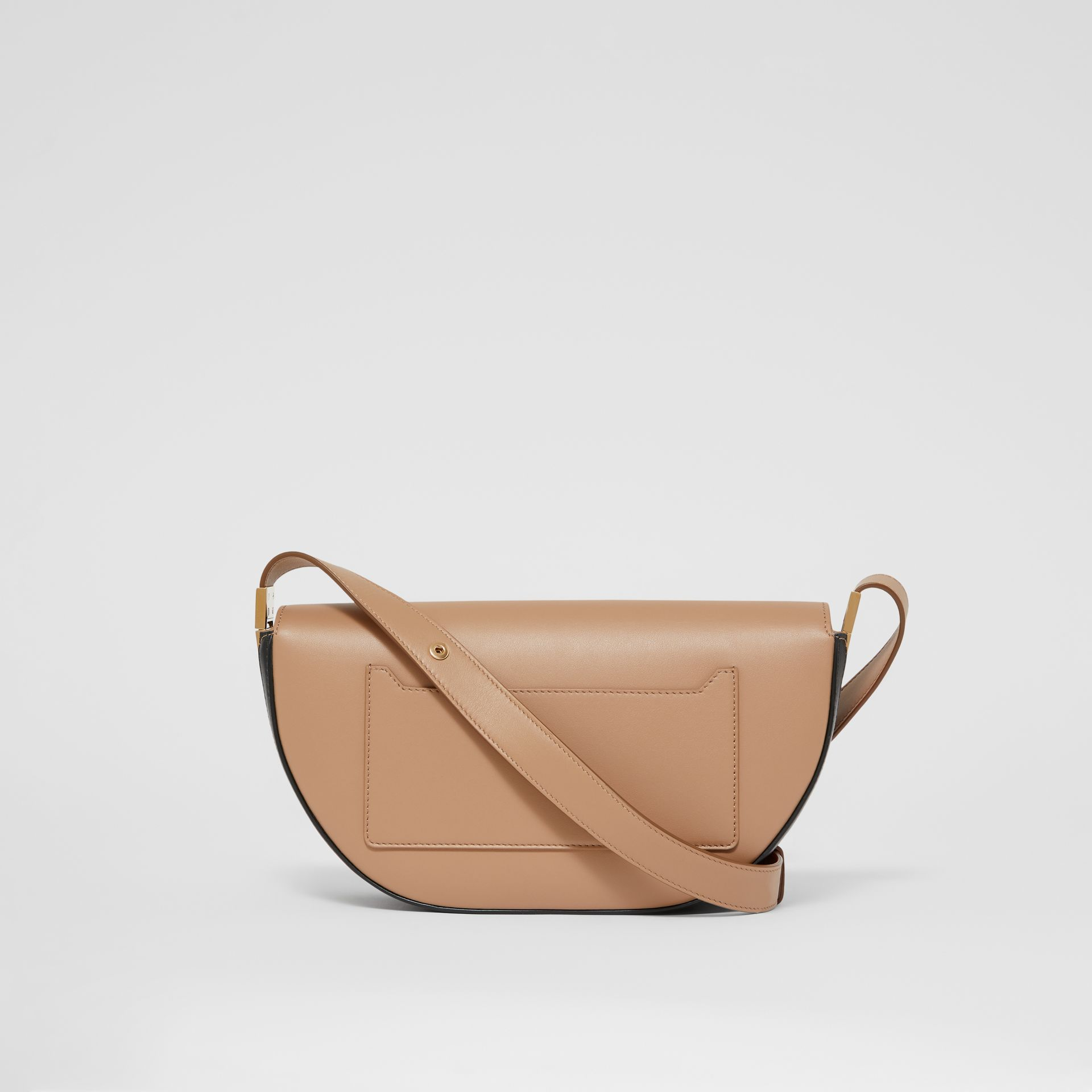 Small Leather Olympia Bag in Camel - Women | Burberry - gallery image 7