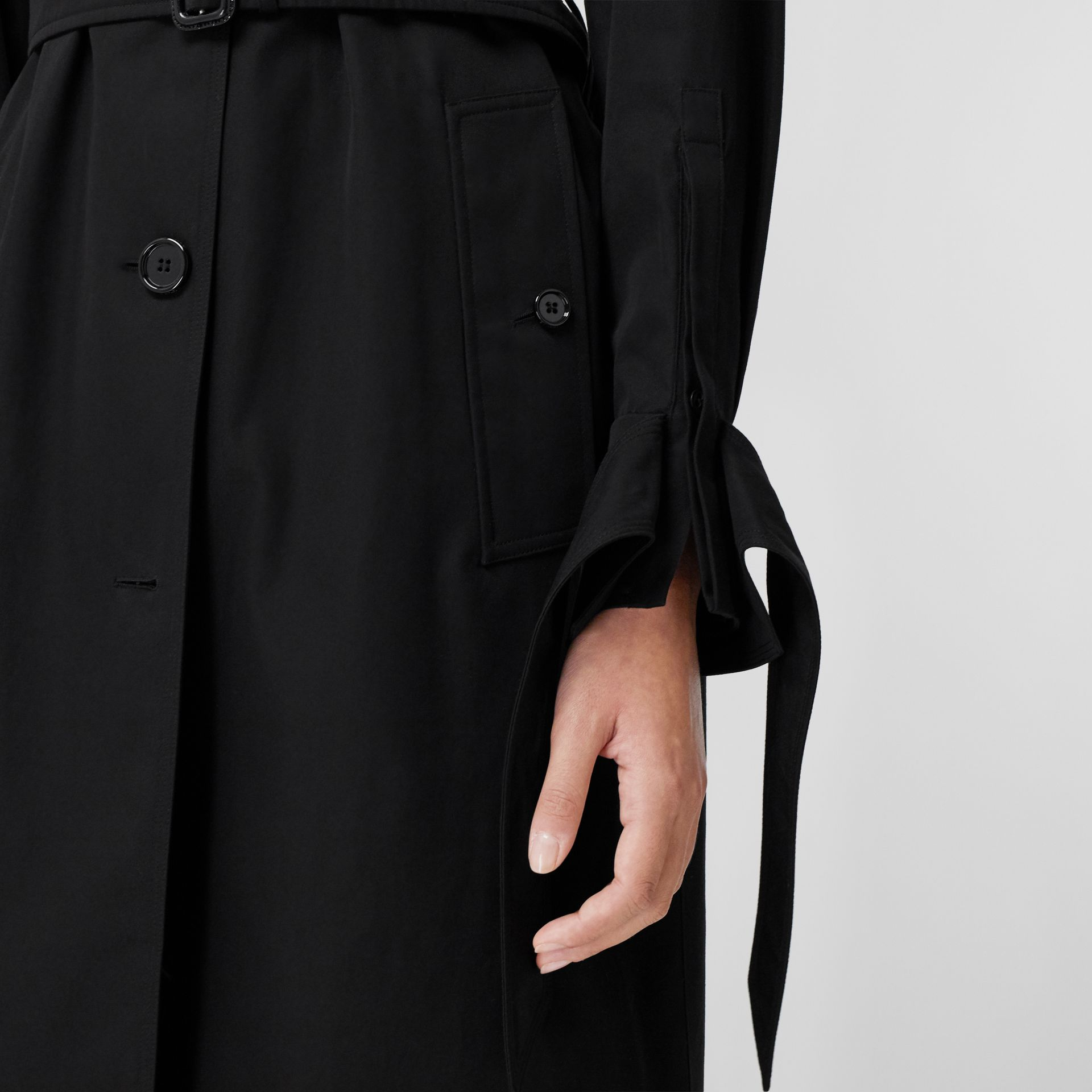 Tropical Gabardine Car Coat - Women | Burberry - gallery image 6