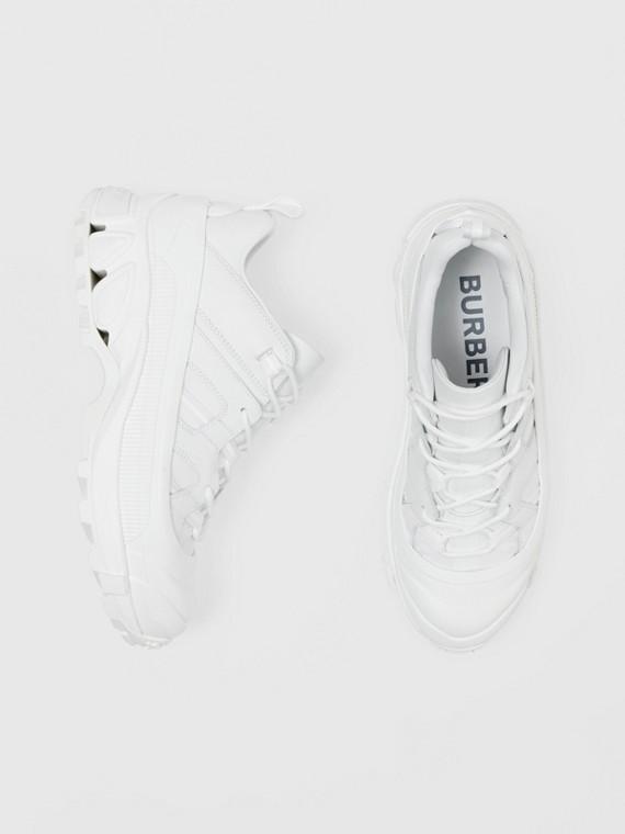Sneaker Arthur in pelle (Bianco)
