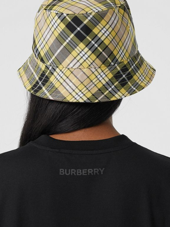 Love Print Cotton Oversized T-shirt in Black - Women | Burberry - cell image 1