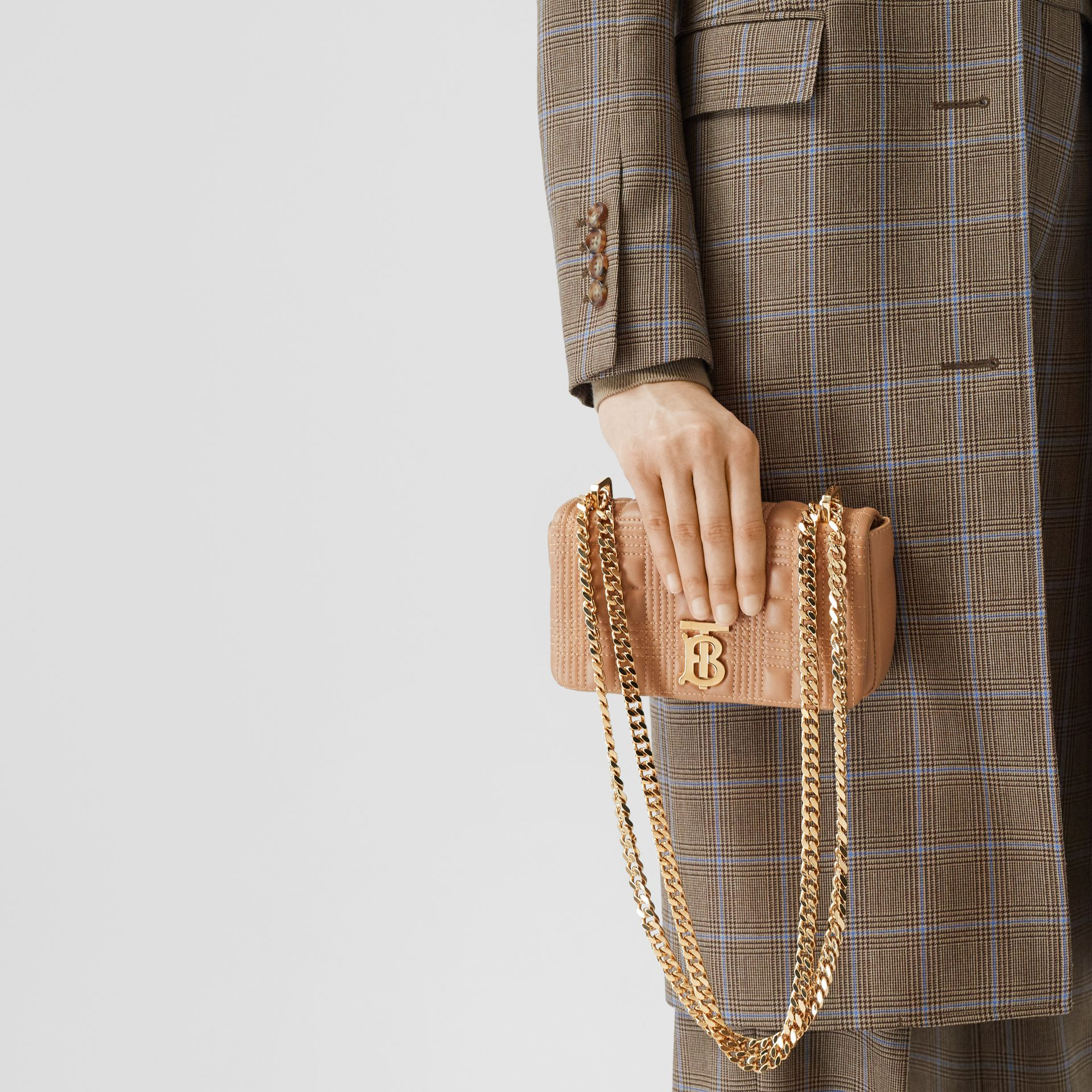 Mini Quilted Lambskin Lola Bag - Women | Burberry - gallery image 2