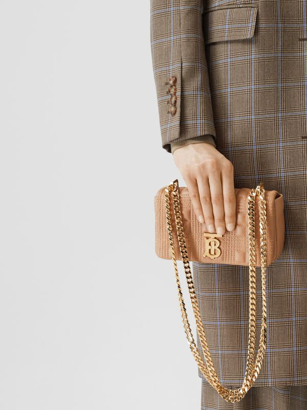 Mini Quilted Lambskin Lola Bag - Women | Burberry - cell image 2