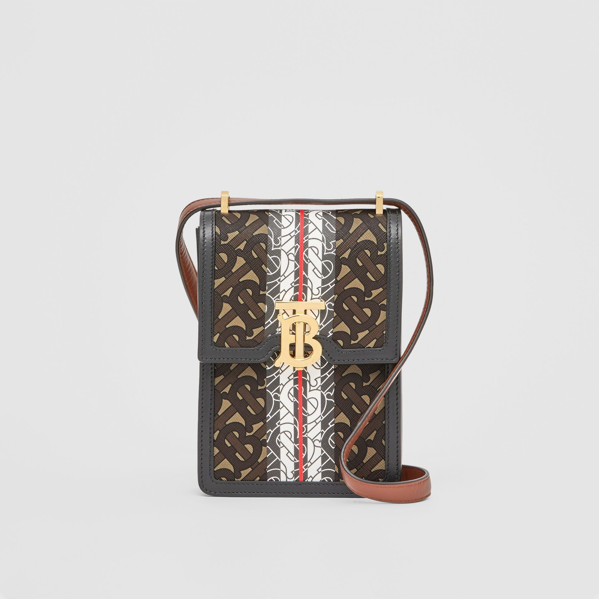 Monogram Stripe E-canvas Robin Bag - Women | Burberry - gallery image 0