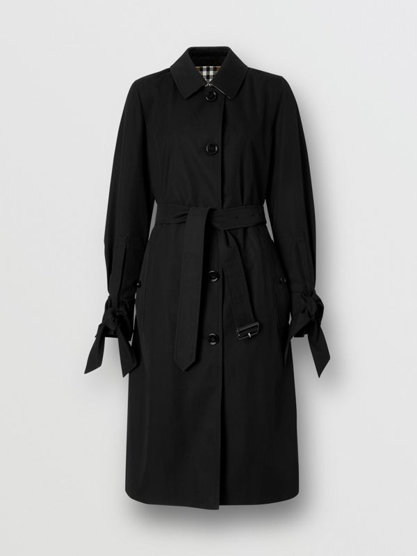 Tropical Gabardine Car Coat - Women | Burberry - cell image 3