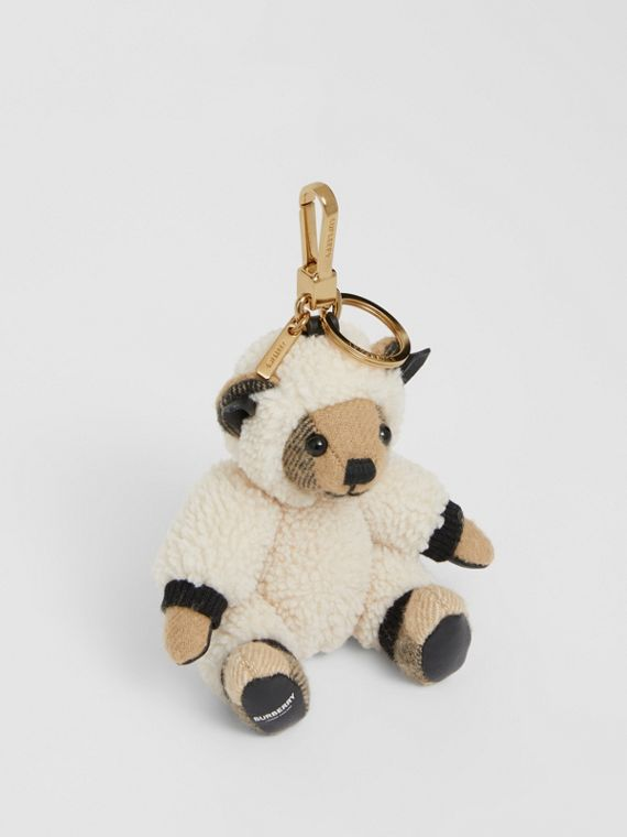 Thomas Bear Charm in Sheep Costume in Archive Beige