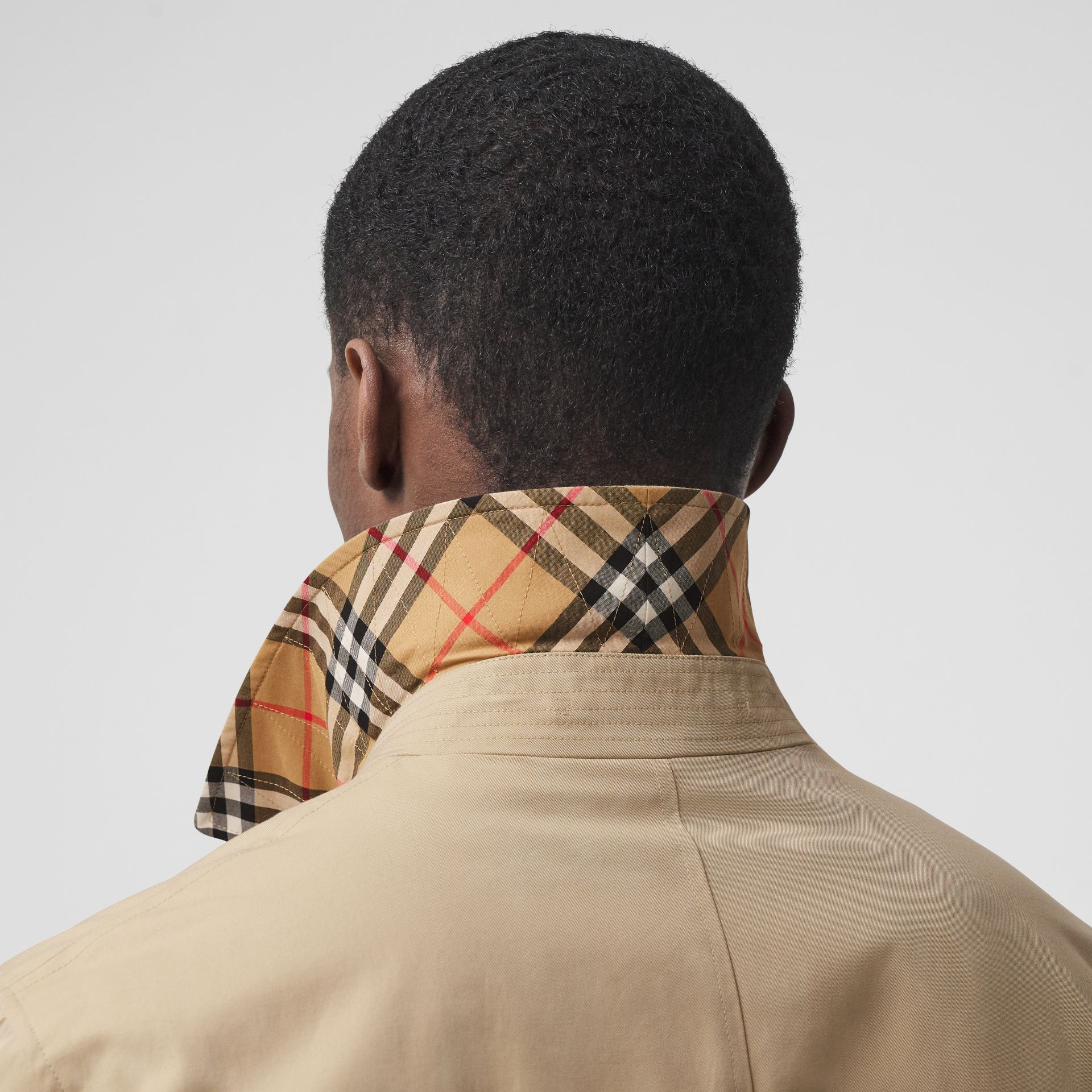 Paletot Heritage The Pimlico (Miel) - Homme | Burberry Canada - photo de la galerie 5