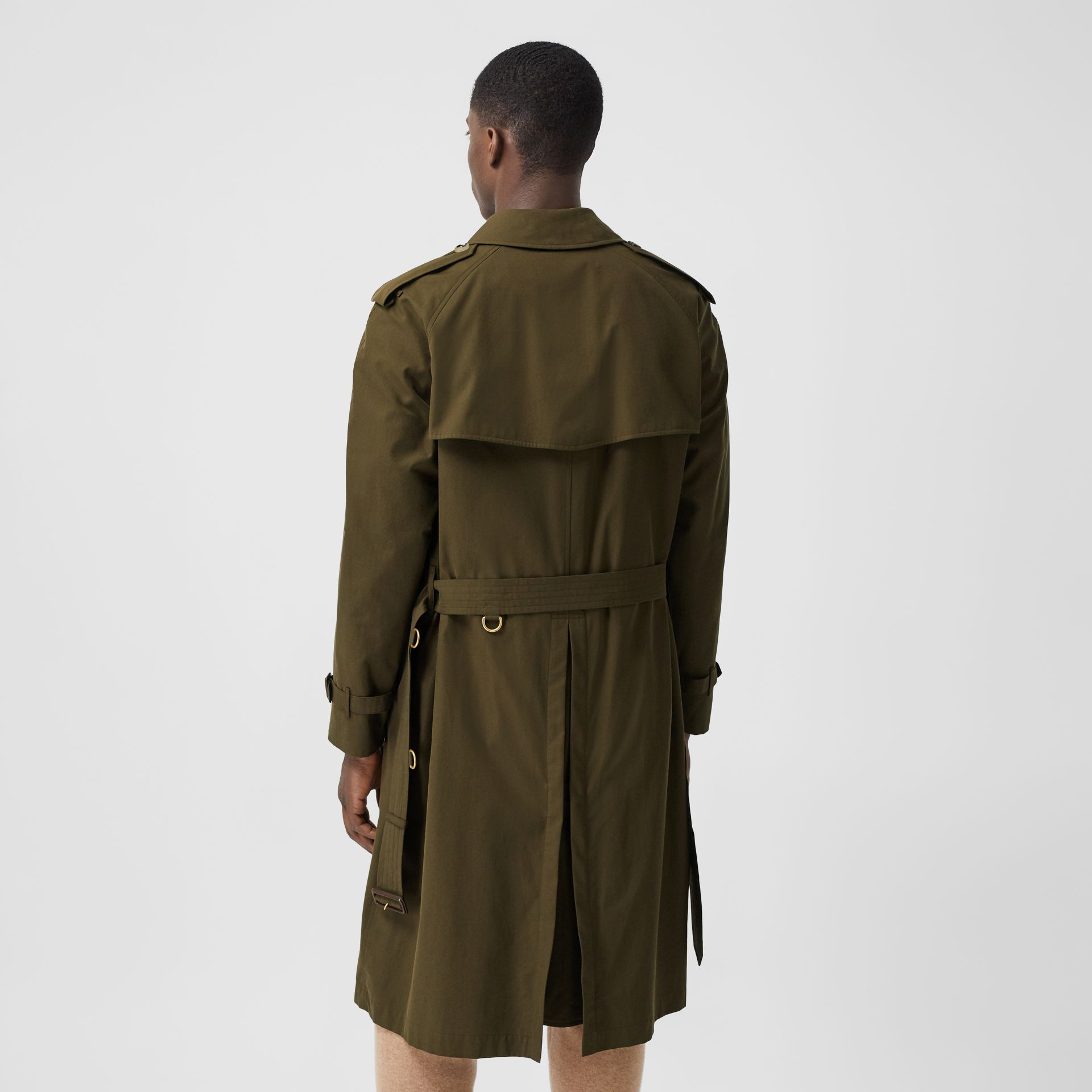 The Westminster Heritage Trench Coat in Dark Military Khaki - Men | Burberry United States - gallery image 2