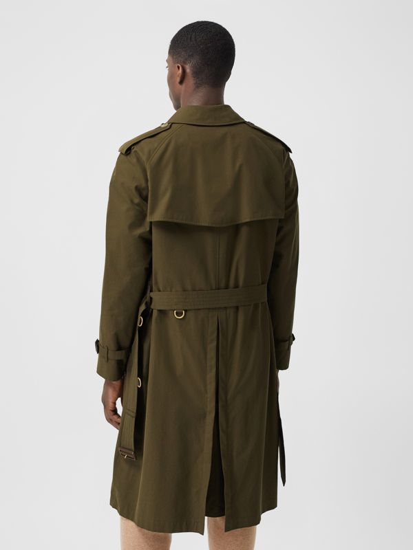 The Westminster Heritage Trench Coat in Dark Military Khaki - Men | Burberry Hong Kong S.A.R. - cell image 2
