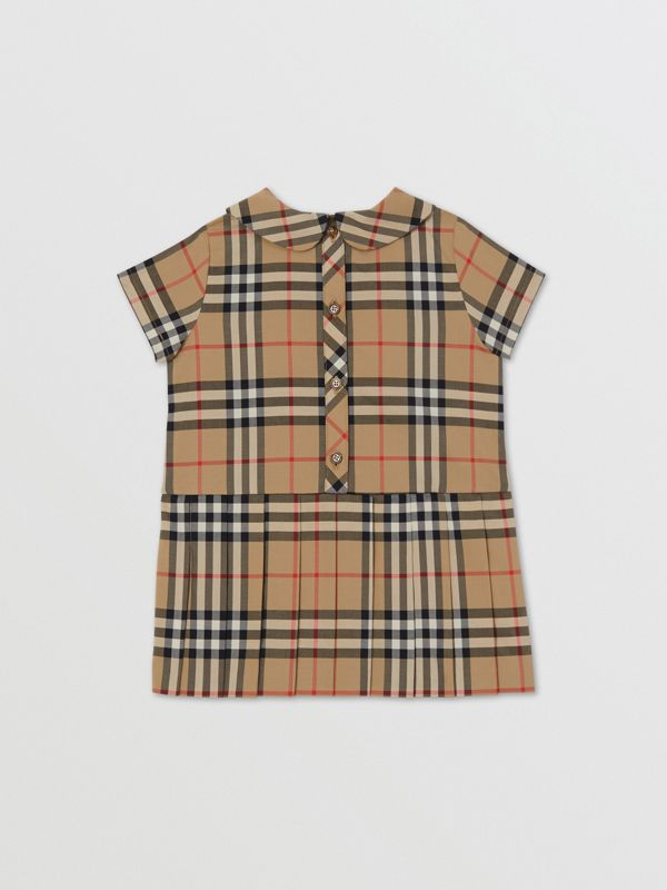 Peter Pan Collar Vintage Check Cotton Dress - Children | Burberry United Kingdom - cell image 2