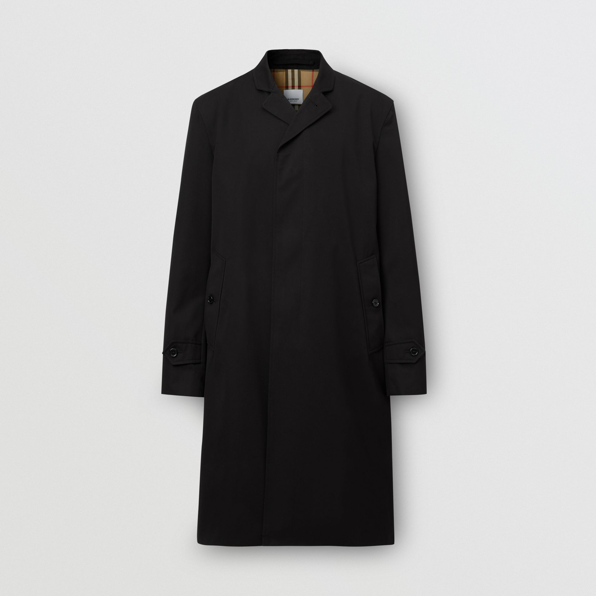 Cotton Gabardine Car Coat - Men | Burberry United States - gallery image 3