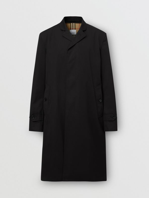 Cotton Gabardine Car Coat - Men | Burberry - cell image 3