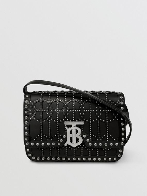 Small Studded Leather TB Bag – Middle East Exclusive