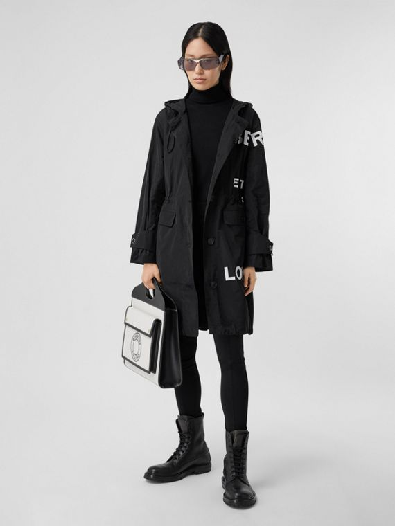 Parka en nylon Horseferry (Noir)