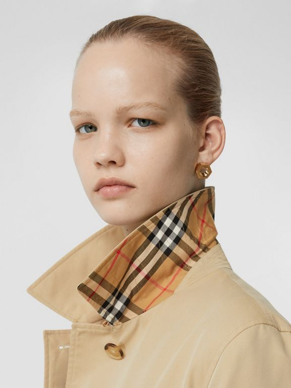 The Pimlico Heritage Car Coat in Honey - Women | Burberry United States - cell image 1