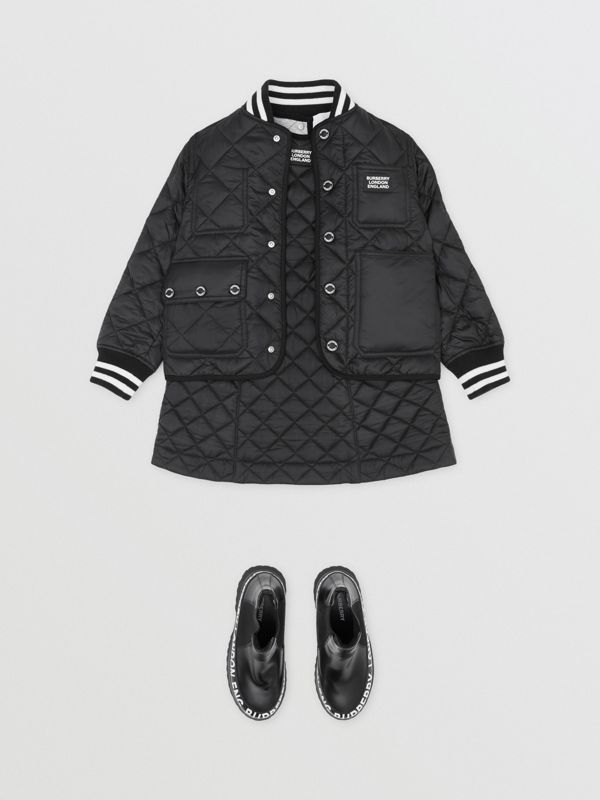 Recycled Polyester Diamond Quilted Jacket | Burberry United Kingdom - cell image 2