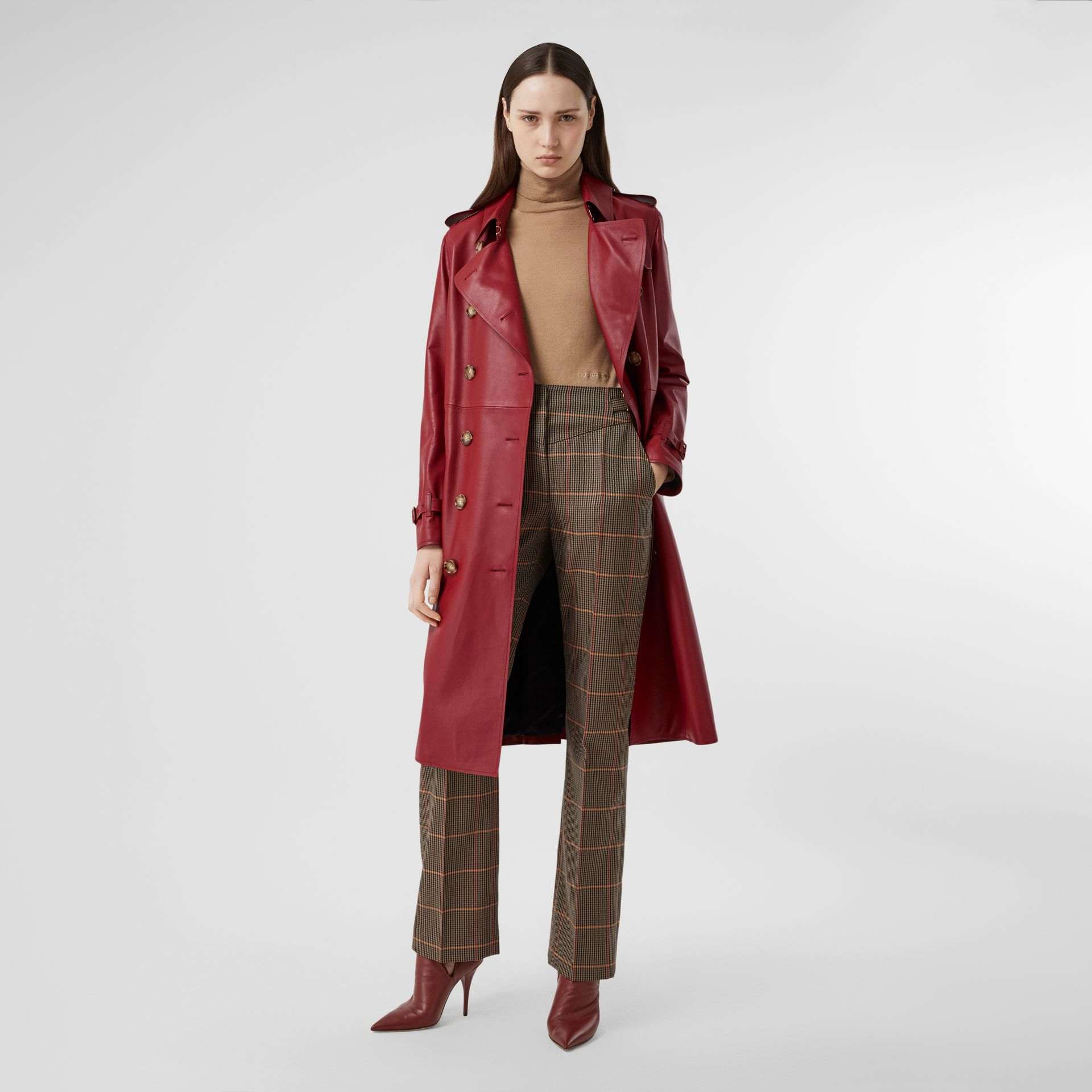 Leather Trench Coat - Women | Burberry - gallery image 0