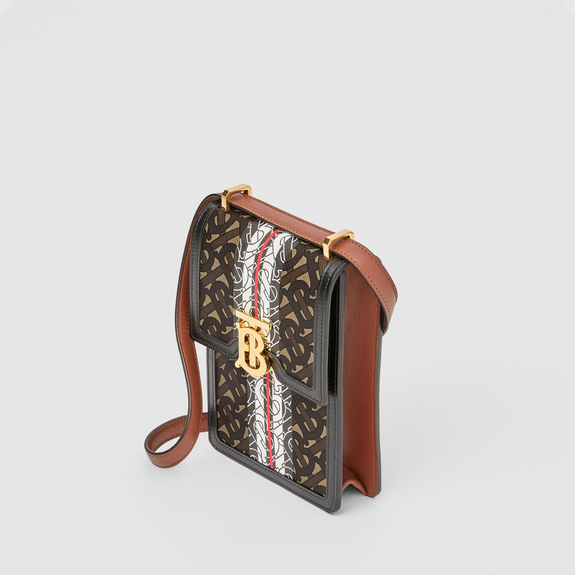 Monogram Stripe E-canvas Robin Bag - Women | Burberry - gallery image 3