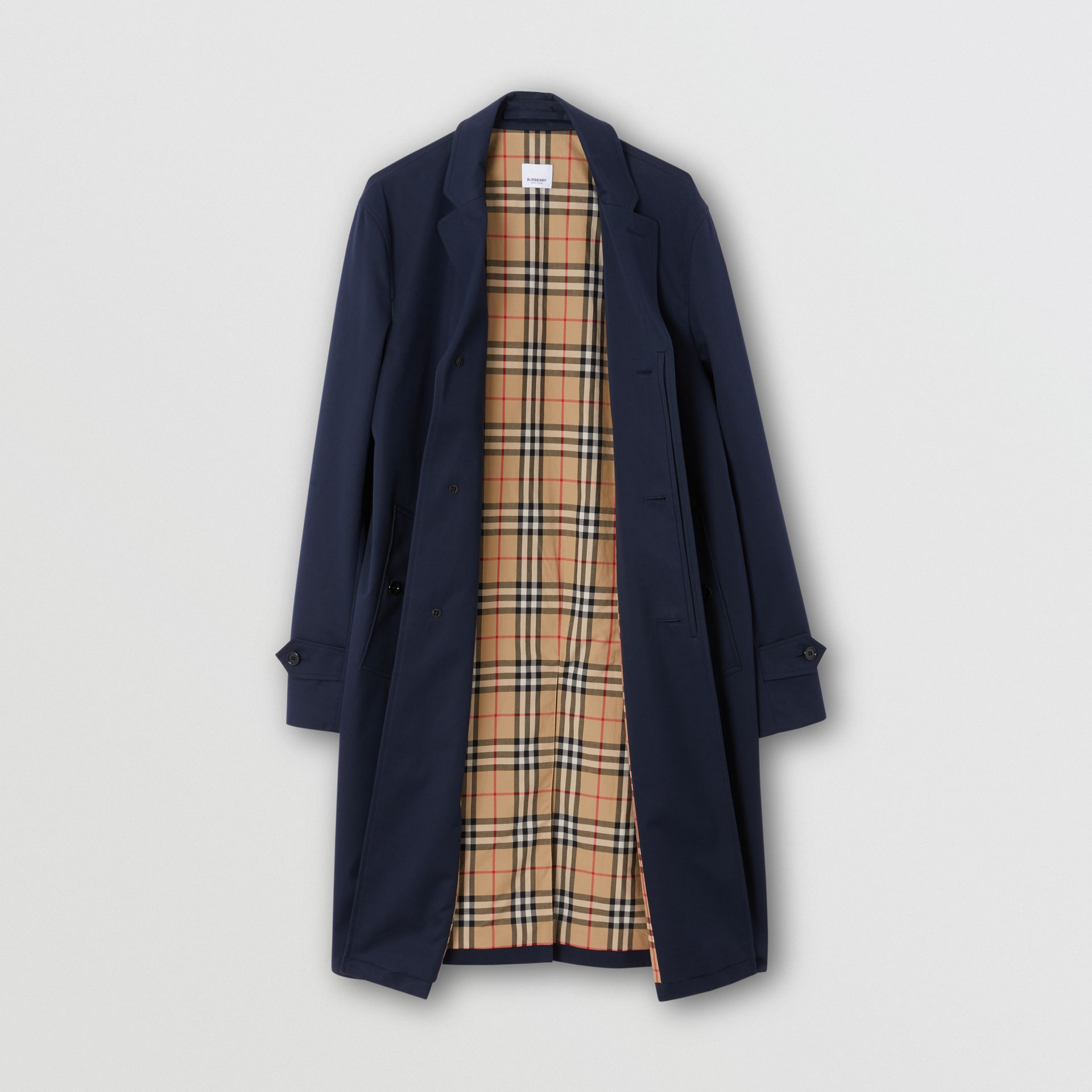 Cotton Gabardine Car Coat - Men | Burberry - gallery image 6
