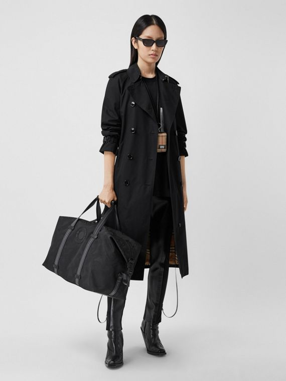 The Waterloo - Trench coat Heritage longo (Preto)