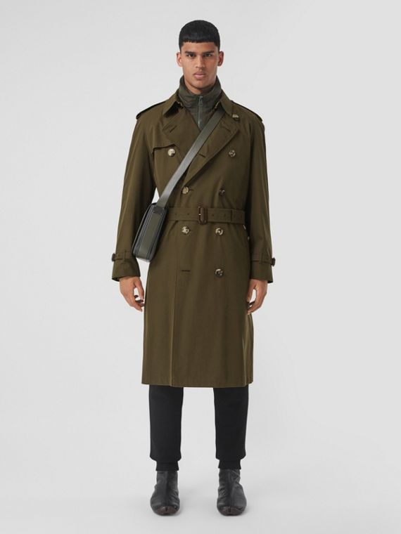 Trench coat Heritage Westminster (Caqui Militar Oscuro)