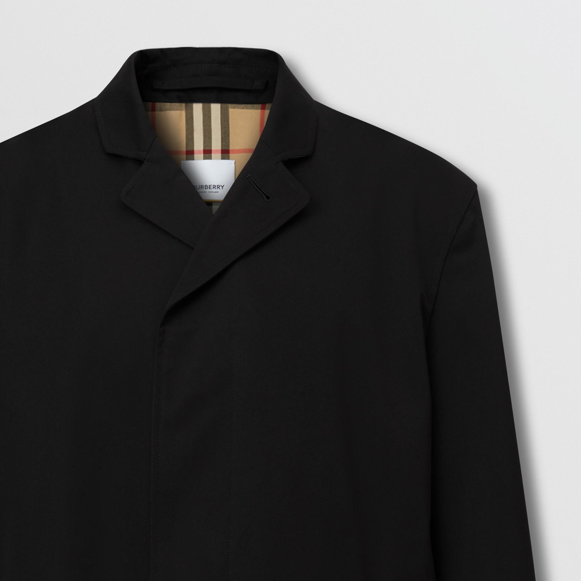 Cotton Gabardine Car Coat | Burberry United Kingdom - gallery image 3