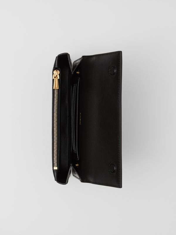 Leather Wallet with Detachable Chain Strap   Burberry United Kingdom - cell image 2