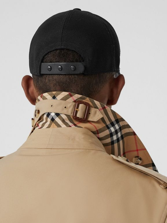 The Mid-length Kensington Heritage Trench Coat in Honey - Men   Burberry - cell image 1