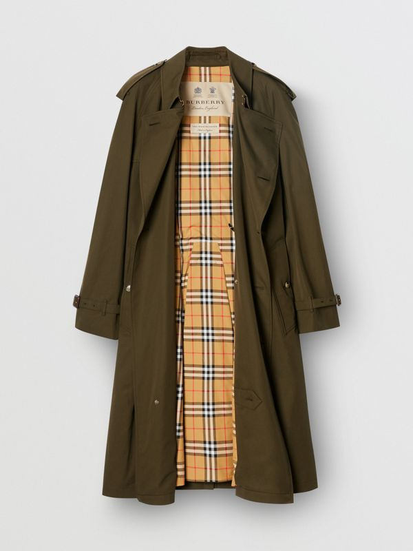The Westminster Heritage Trench Coat in Dark Military Khaki - Men | Burberry United States - cell image 3