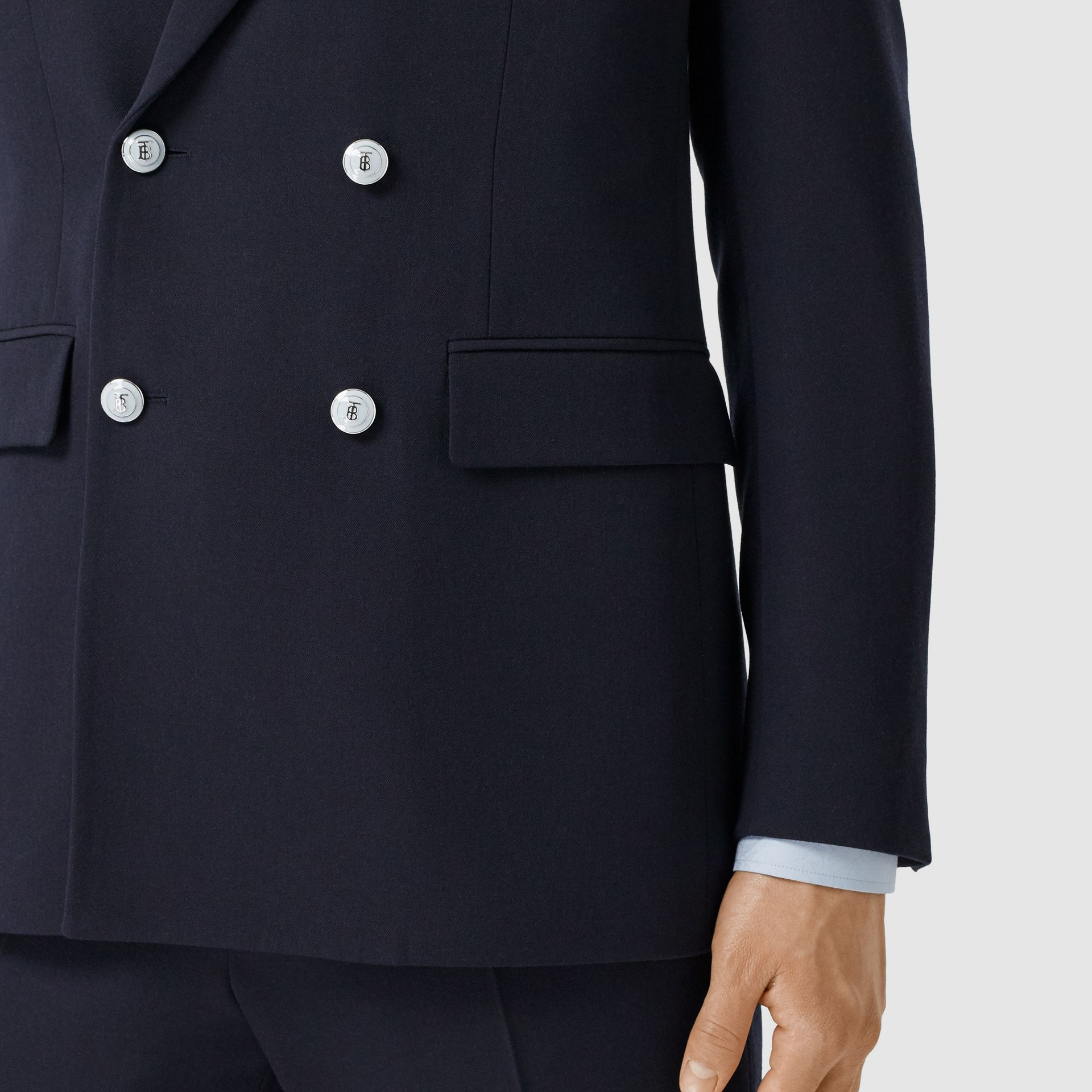 English Fit Wool Double-breasted Jacket - Men | Burberry - gallery image 4