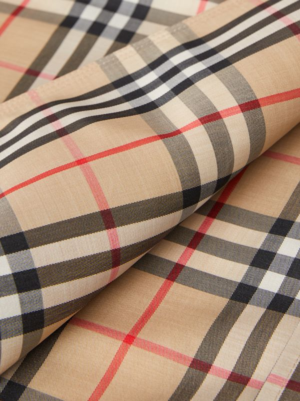 Vintage Check Recycled Polyester Car Coat - Women | Burberry United Kingdom - cell image 3