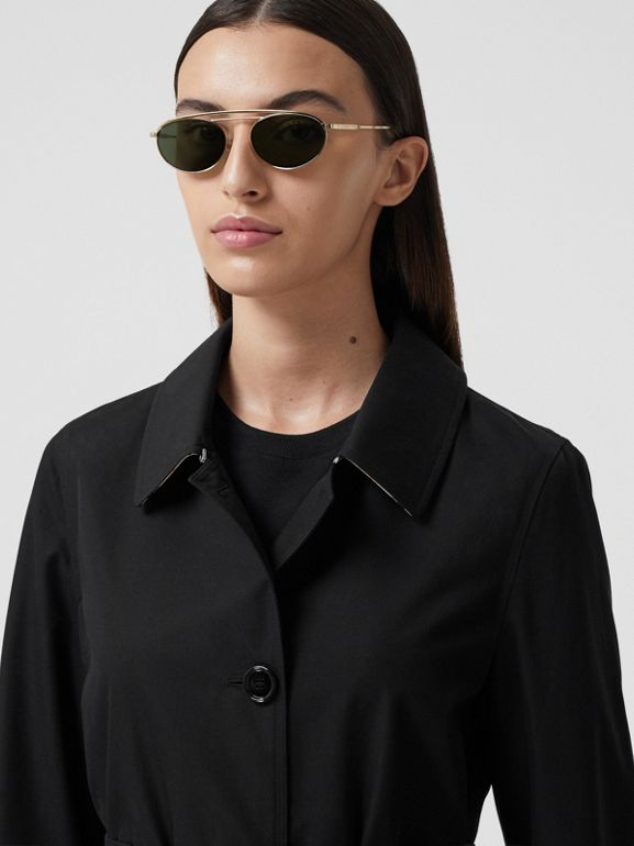 Tropical Gabardine Car Coat - Women | Burberry - cell image 1
