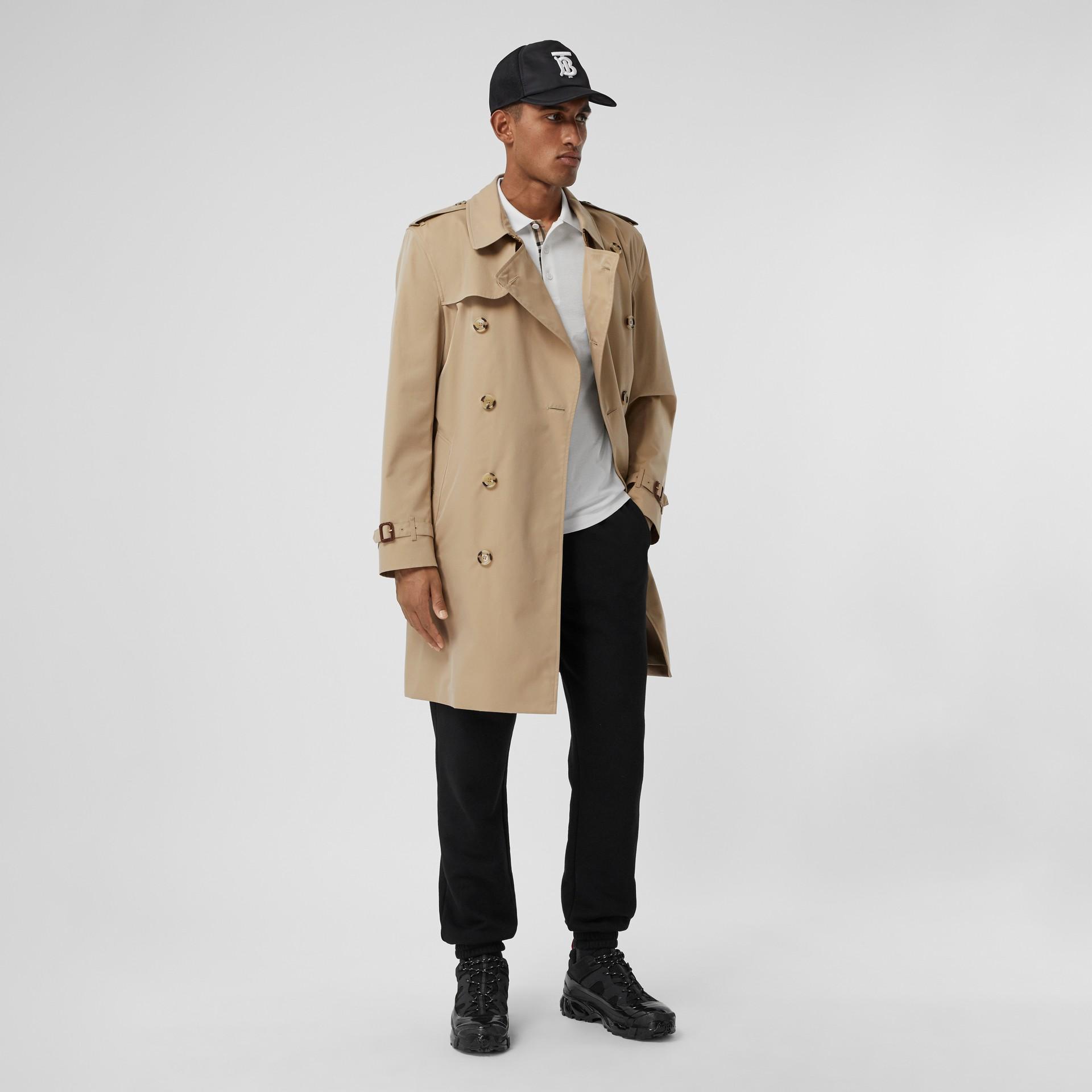 The Mid-length Kensington Heritage Trench Coat in Honey - Men   Burberry - gallery image 0