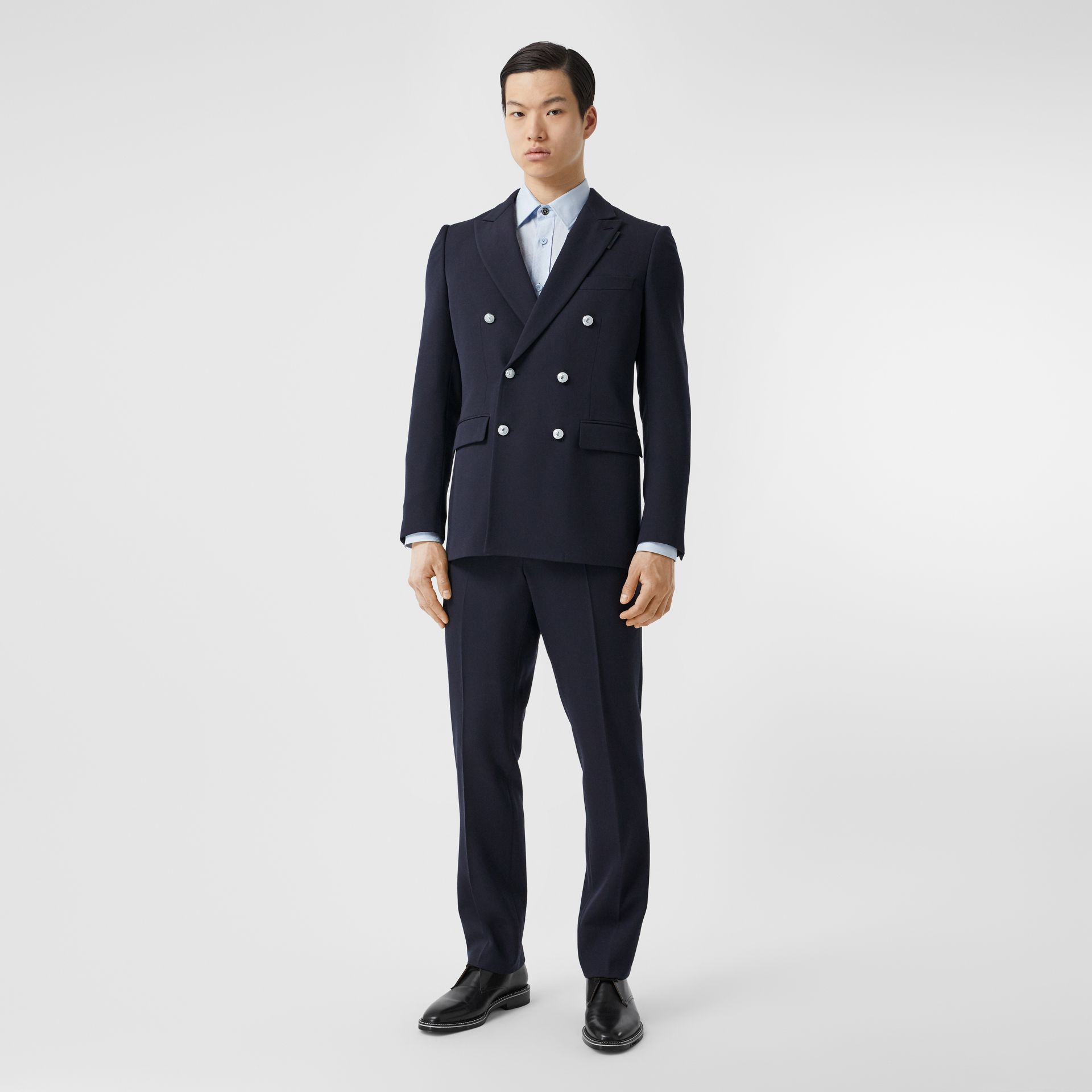English Fit Wool Double-breasted Jacket - Men | Burberry - gallery image 6