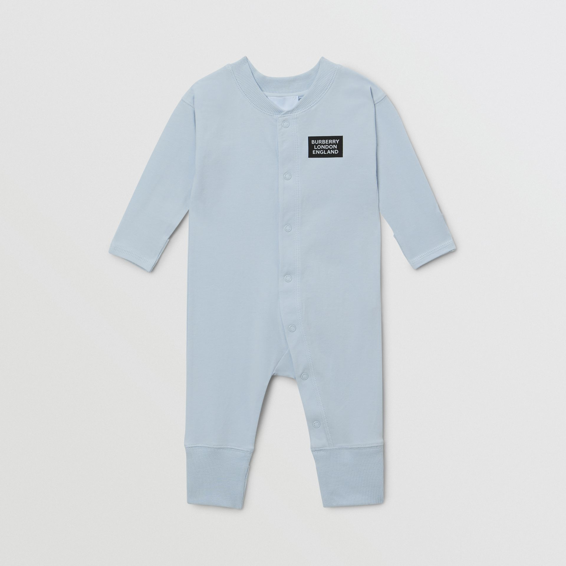 Check Trim Organic Cotton Three-piece Baby Gift Set - Children | Burberry United Kingdom - gallery image 1