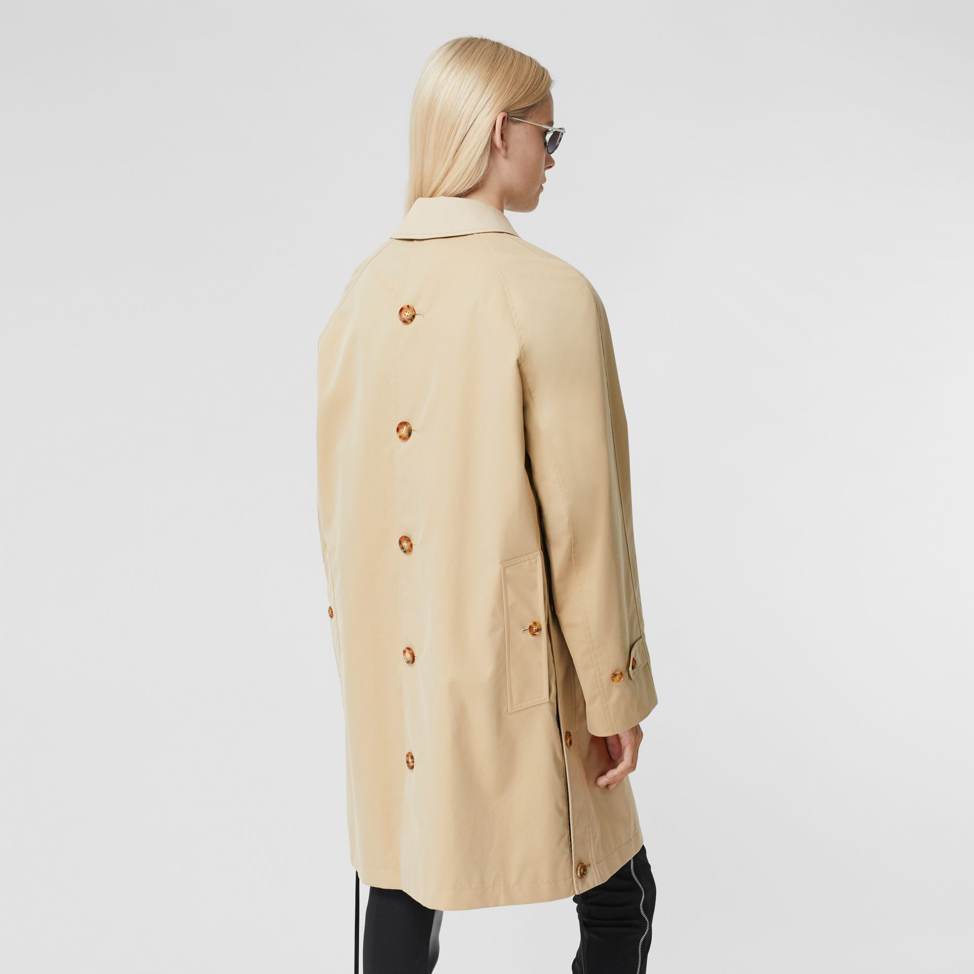 Two-tone Reconstructed Car Coat - Women | Burberry - gallery image 2