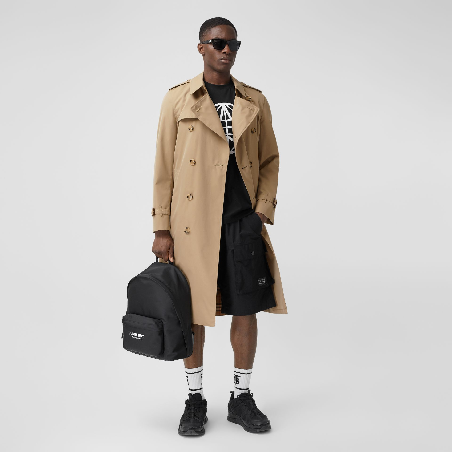 The Long Chelsea Heritage Trench Coat in Honey - Men | Burberry Canada - gallery image 0