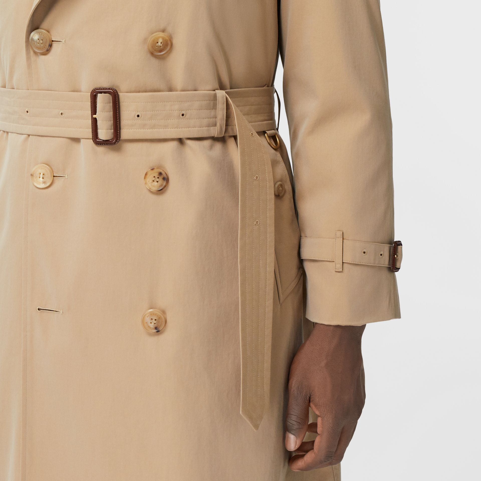 The Westminster Heritage Trench Coat in Honey - Men | Burberry Australia - gallery image 5