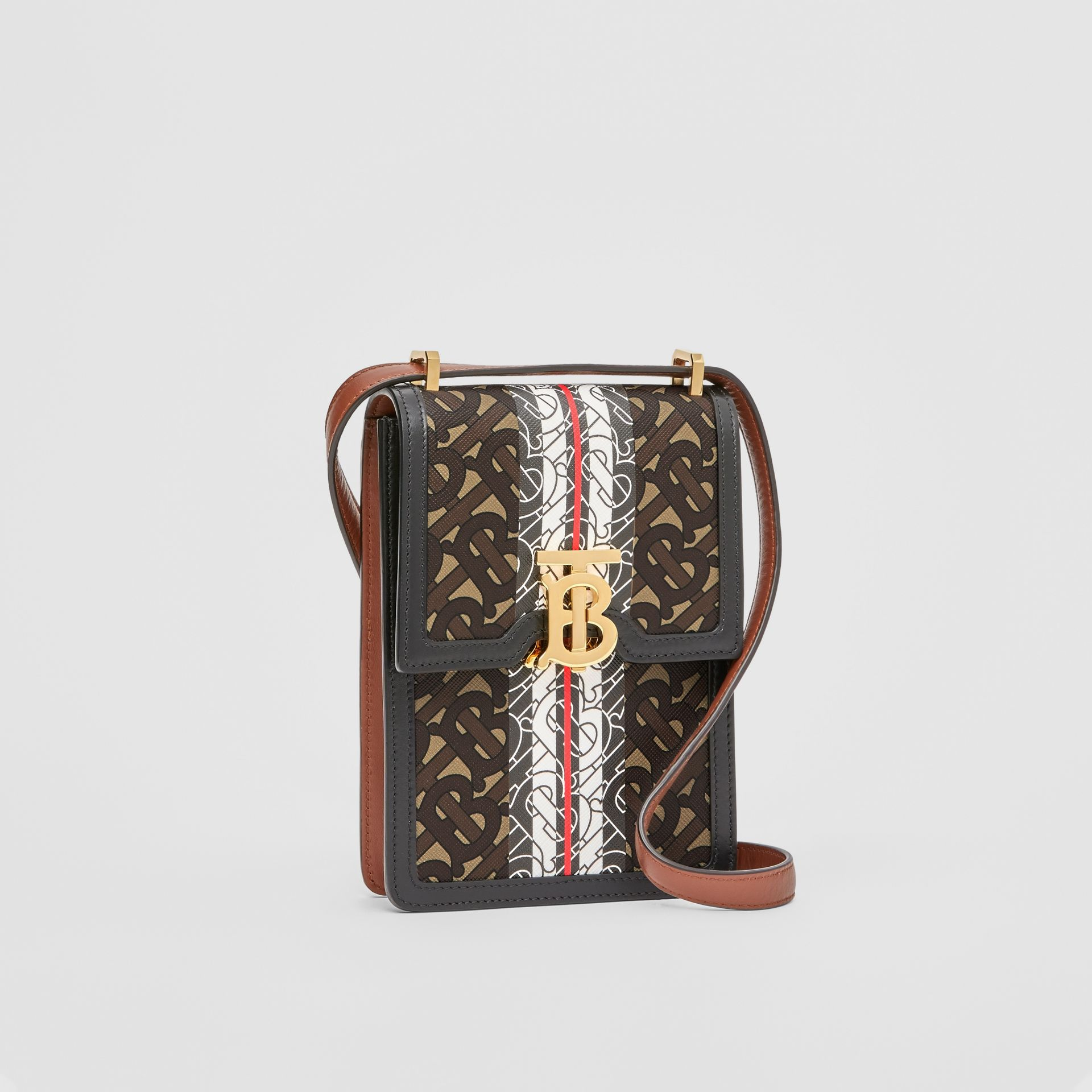Monogram Stripe E-canvas Robin Bag - Women | Burberry - gallery image 6