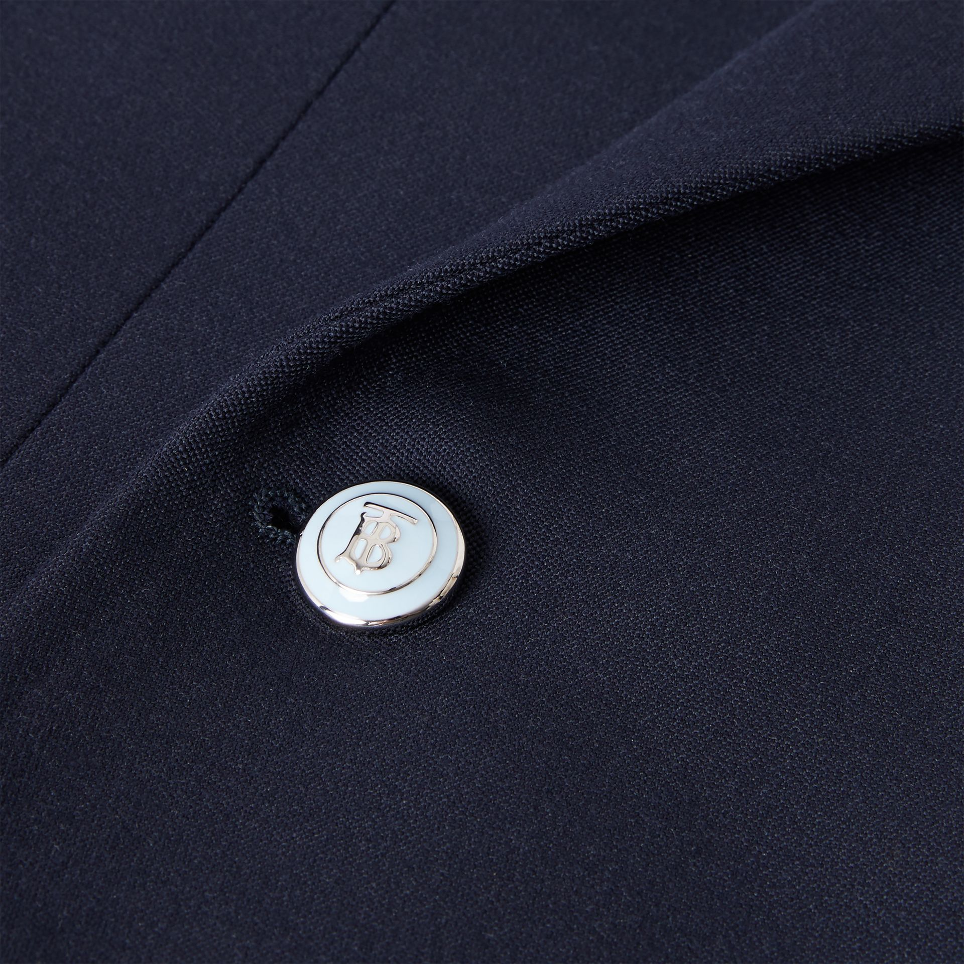 English Fit Wool Double-breasted Jacket - Men | Burberry - gallery image 7