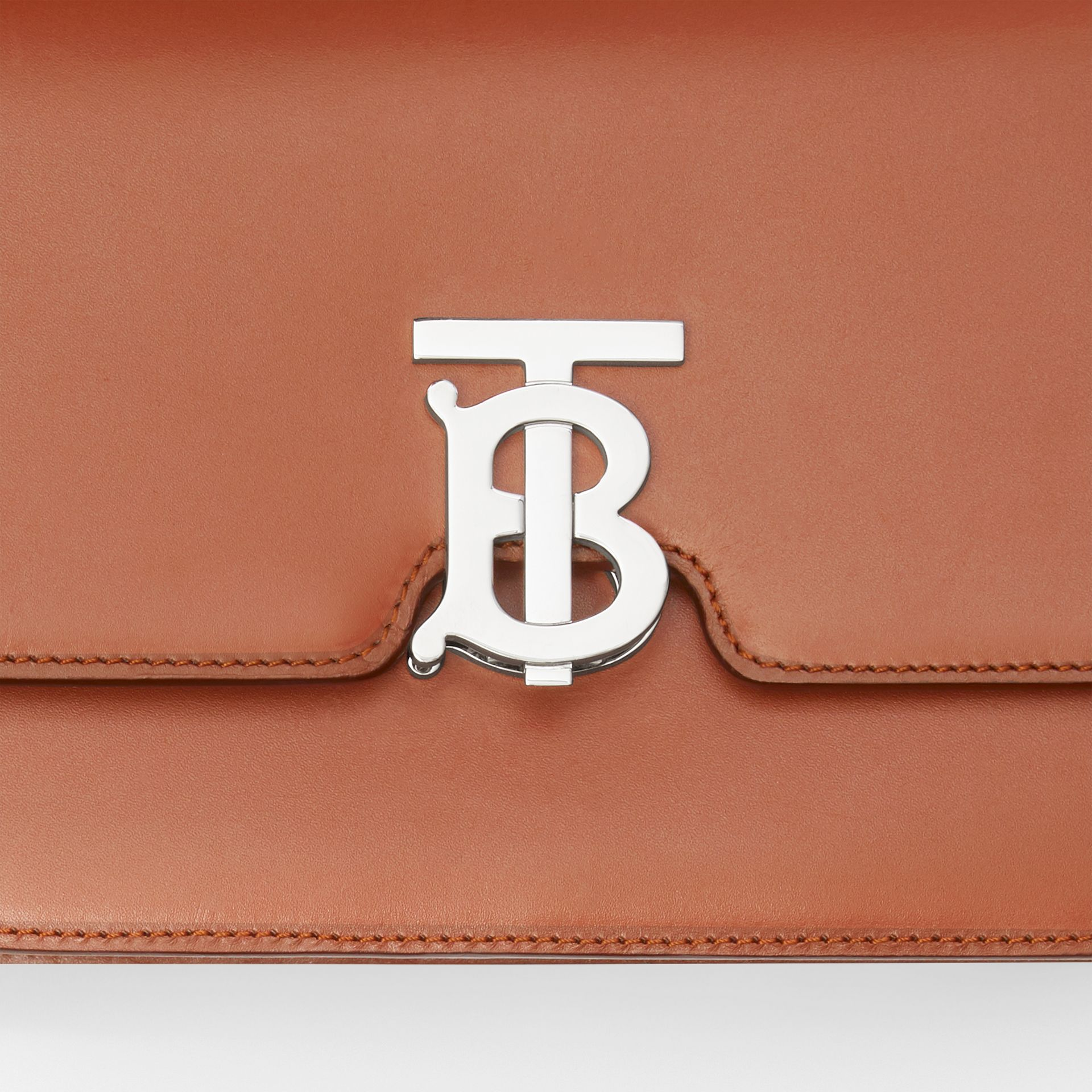 Small Leather TB Bag in Malt Brown - Women | Burberry United States - gallery image 1