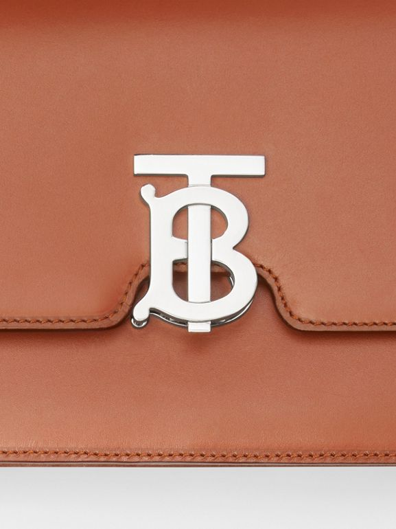 Small Leather TB Bag in Malt Brown - Women | Burberry - cell image 1
