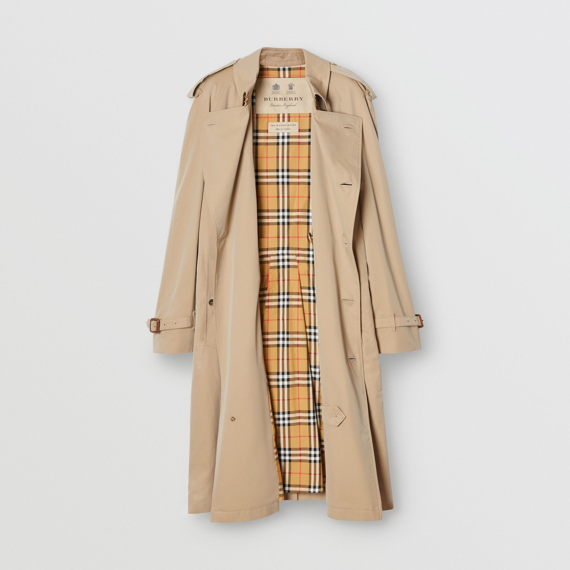 The Westminster Heritage Trench Coat in Honey - Men | Burberry Australia - gallery image 3