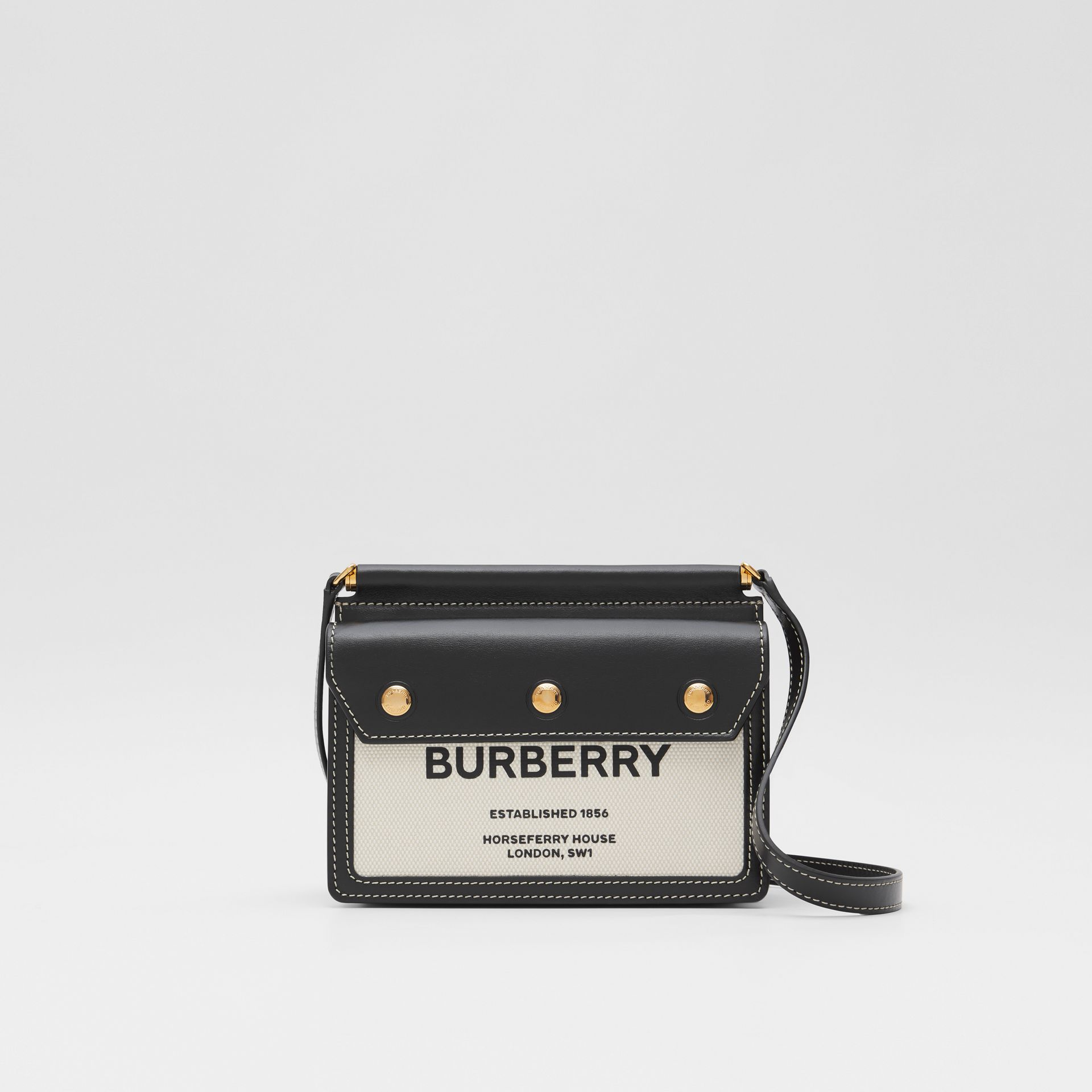 Mini Horseferry Print Title Bag with Pocket Detail - Women | Burberry United States - gallery image 0