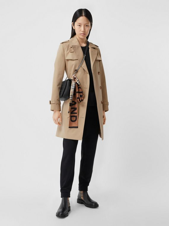 Trench coat Islington curto (Mel)