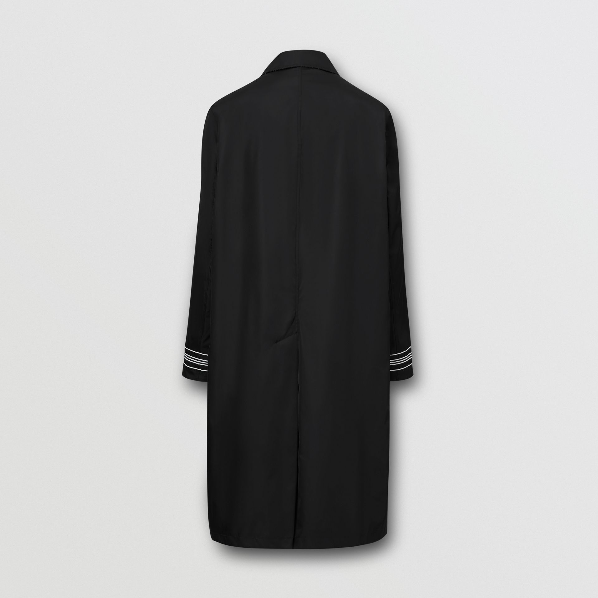Reversible Logo Embroidered ECONYL® Car Coat - Men | Burberry United States - gallery image 10