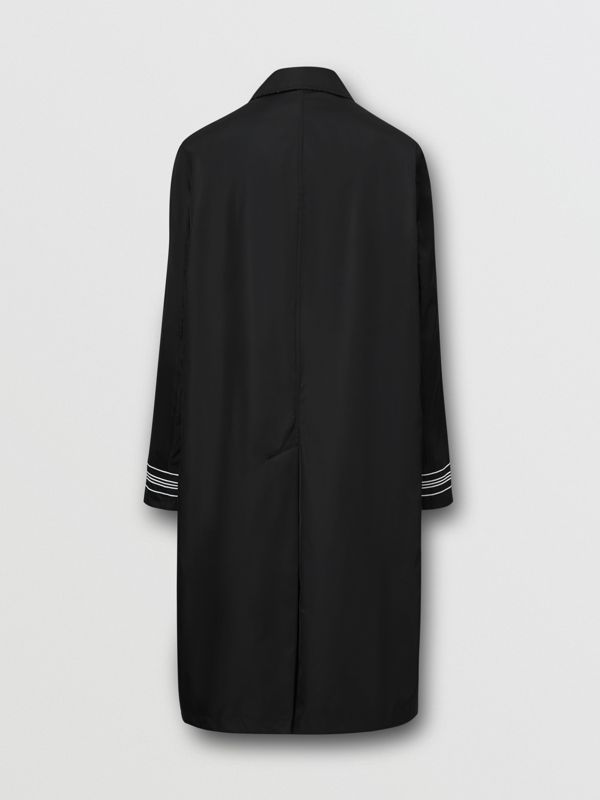 Reversible Logo Embroidered ECONYL® Car Coat | Burberry United Kingdom - cell image 2