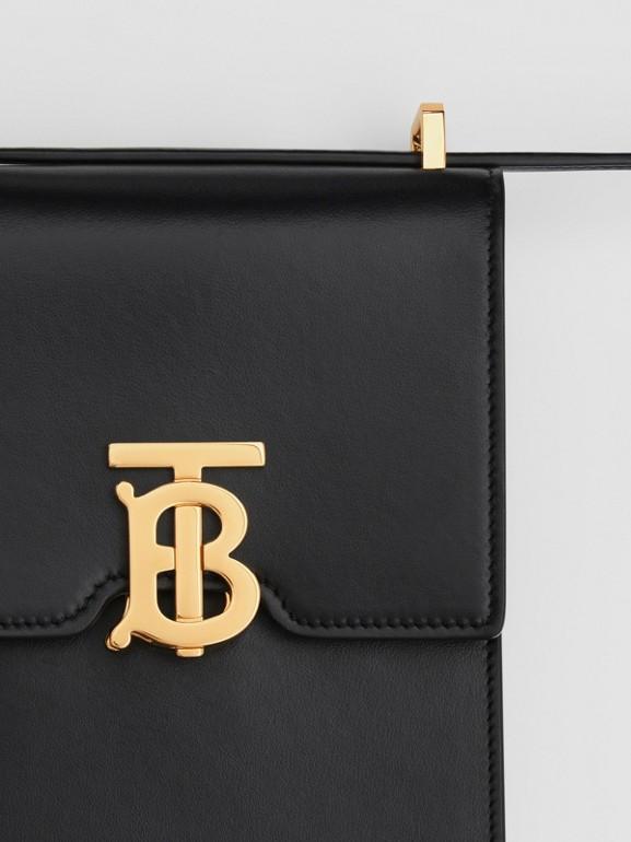 Leather Robin Bag in Black - Women | Burberry Australia - cell image 1