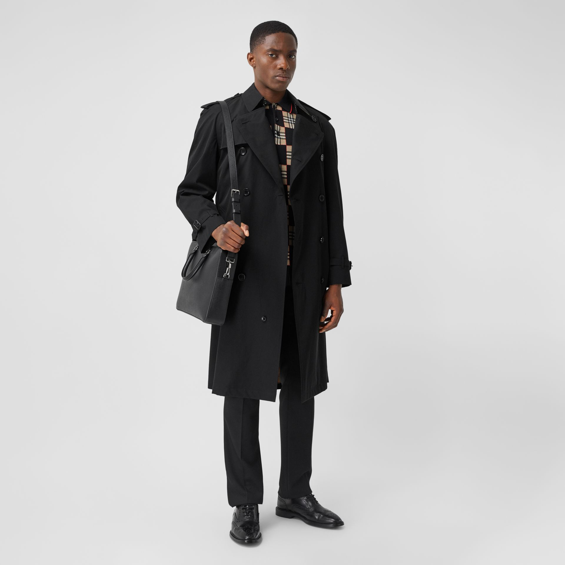 The Westminster Heritage Trench Coat in Black - Men | Burberry United States - gallery image 6